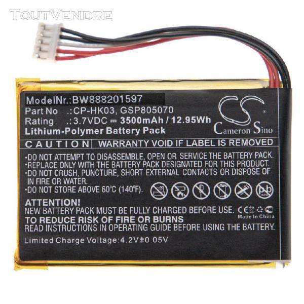 Vhbw batterie compatible avec harman/kardon esquire 2 haut-p