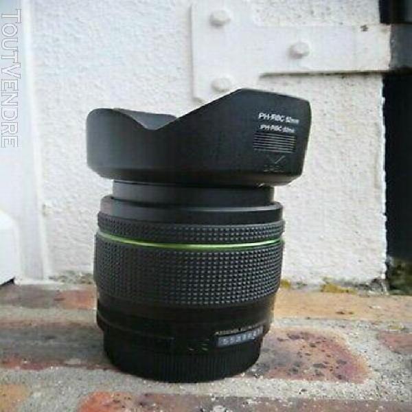Objectif af smc pentax-da 18-55mm 3.5-5.6 al wr
