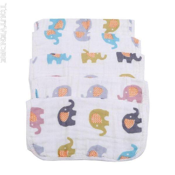 28*28cm nouveau né bébé carré gaze serviette coton