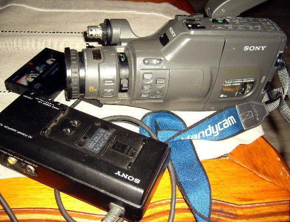 Camescope sony video8mm ccd f385e à réparer occasion,