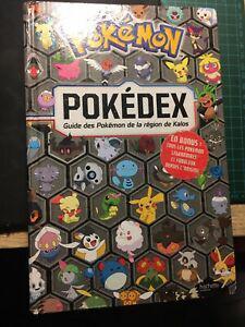 Livre pokemon pokedex guide des pokemon de kalos