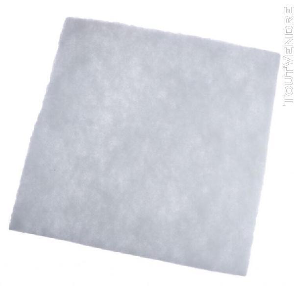 Filtre d'aquarium eponge filtre mousse filtre coton 50x50x1,