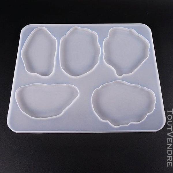 Moule en silicone pour faire des bijoux, des tasses, des des