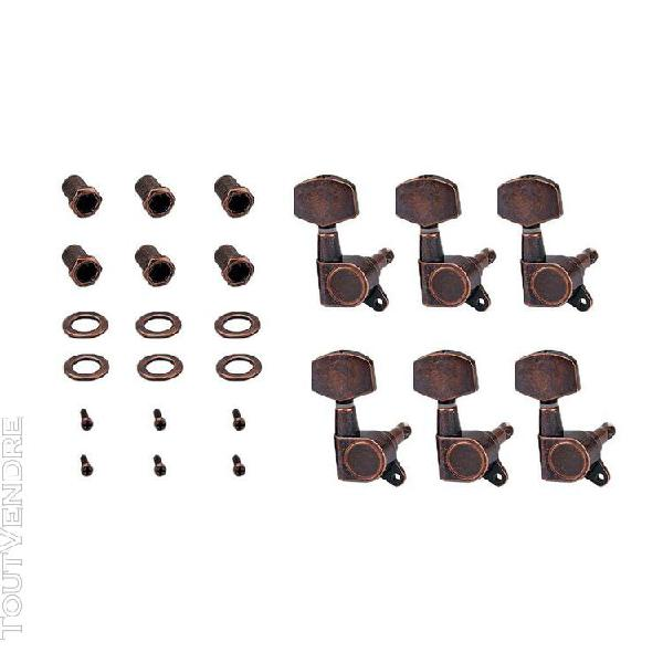 6r guitare tuning pegs tuners mécaniques pour guitare