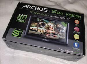 Mp4 archos 50b vision 8gb. sous blister. neuf.