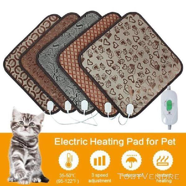Tapis chauffant pour animaux domestiques chiens et chats ave