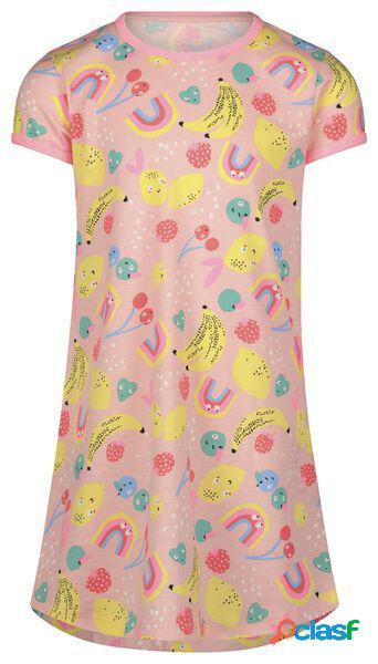 Hema chemises de nuit enfant et poupée rose pâle (rose pâle)