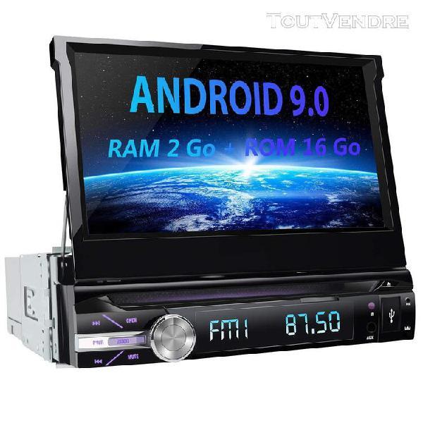 Car audio awesafe android 9.0 autoradio 1 din gps ecran tact