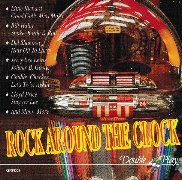 Cd rock around the clock compilation occasion, antony