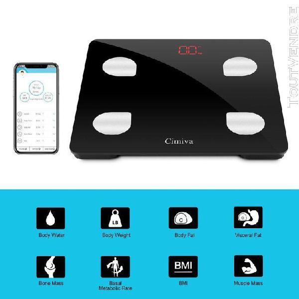 Leshp balance de gym body fat scale smart bmi scale digital