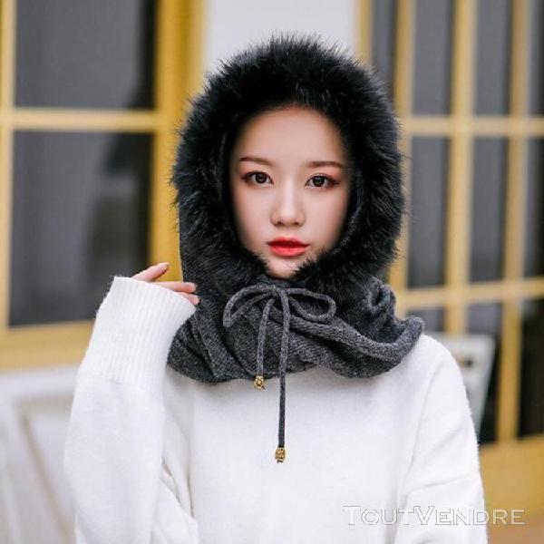 Femmes mode automne et hiver chaud plus en peluche bandage b
