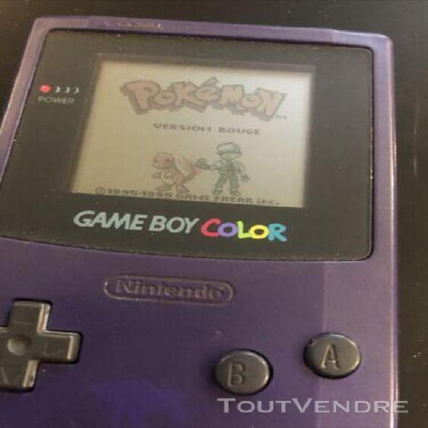 Jeux game boy pokemon + game boy color