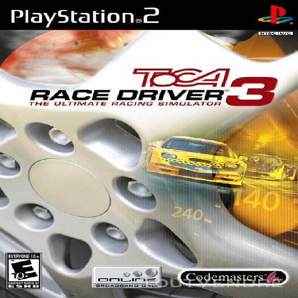 Jeux vidéo toca race driver 3 playstation 2 (ps2) 502486632