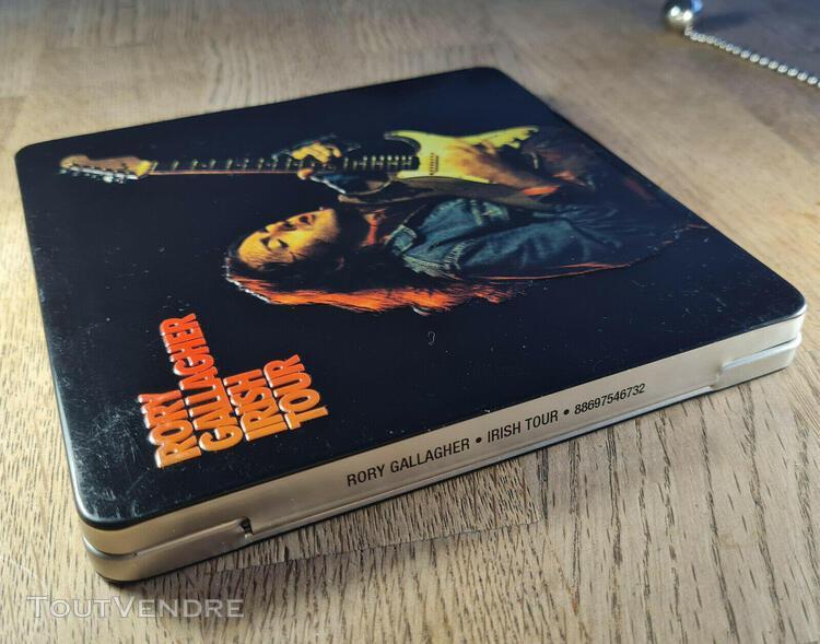 Rory gallagher - irish tour cd boitier métal