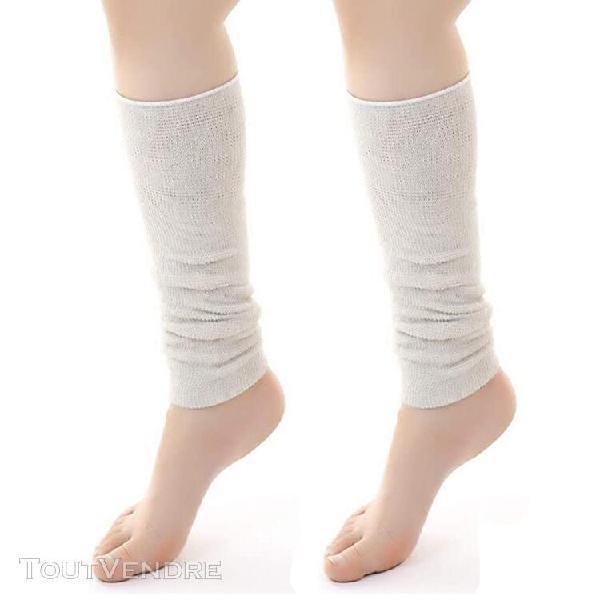 Femmes hiver longue couverture de jambe chaude épaisse