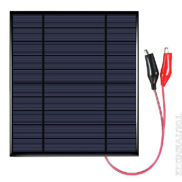 Panneau solaire polycristallin de silicium de 2.5w 5v avec l