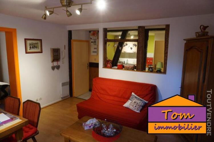 Appartement t2 42m² meublé