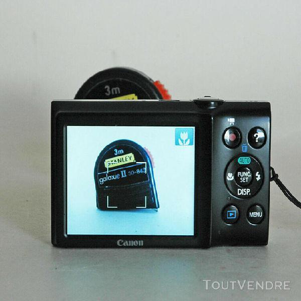 Compact numérique canon powershot a 2300 en parfait état.