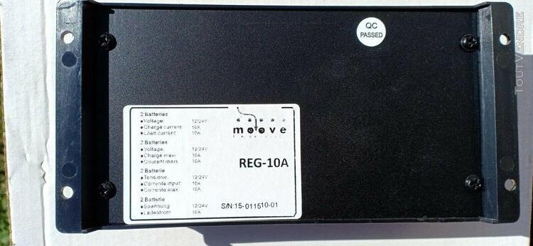 Régulateur de charge moove pour panneaux solaires