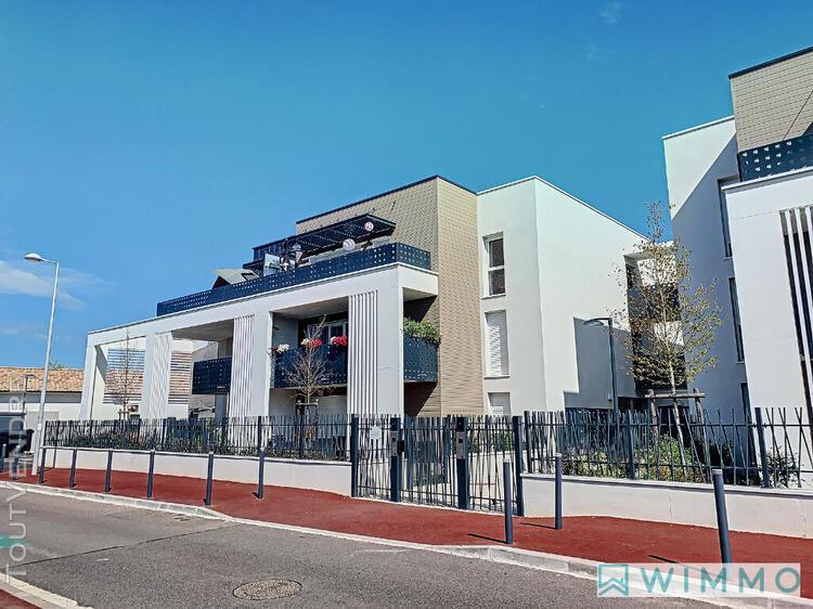 Appartement t3 avec terrasse exposée sud - 62.68 m2