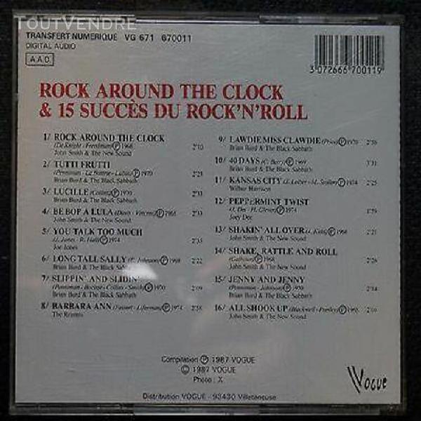 Cd rock around the clock