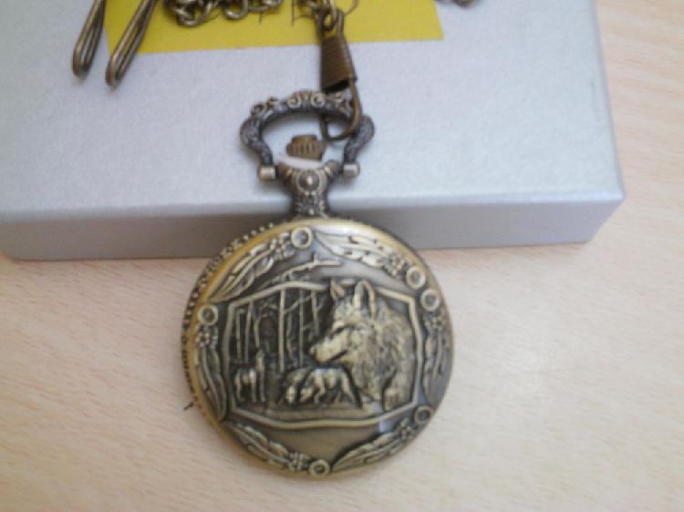 Magnifique montre gousset loup neuve n°1002