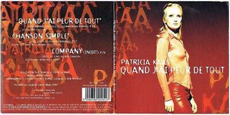 Patricia kaas -cd 3 titres- quand j'ai peur de tout (jean