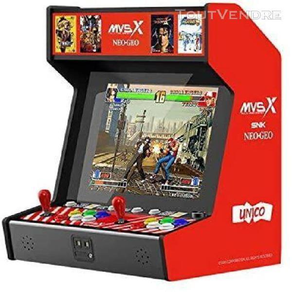 Snk neogeo mvsx bartop arcade (50 jeux snk pré-installés)