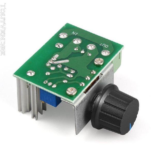 220v 2000w contrôleur de vitesse scr régulateur de tension