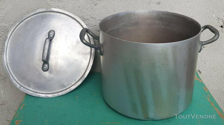 Ancienne marmite aluminium