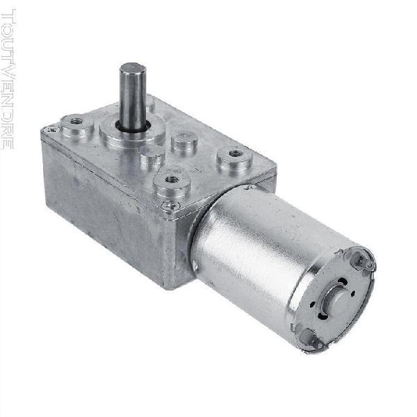Moteur 100 tr / min moteur de réduction dc 12v 2-100rpm