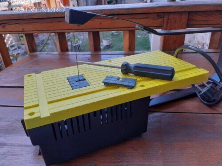 Scie à chantourner maxicraft sipiralux modèle 1010