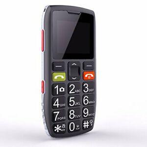 Téléphone portable senior débloqué avec grandes