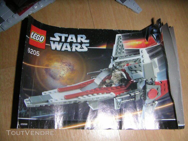Lego star wars 6205 de 2006 v wing fighter
