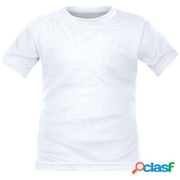 Tee shirt enfant à personnaliser - 4 ans blanc