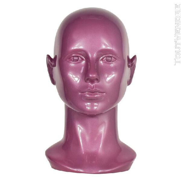 Casque avec support pour femme couvre-chef mannequin avec fe