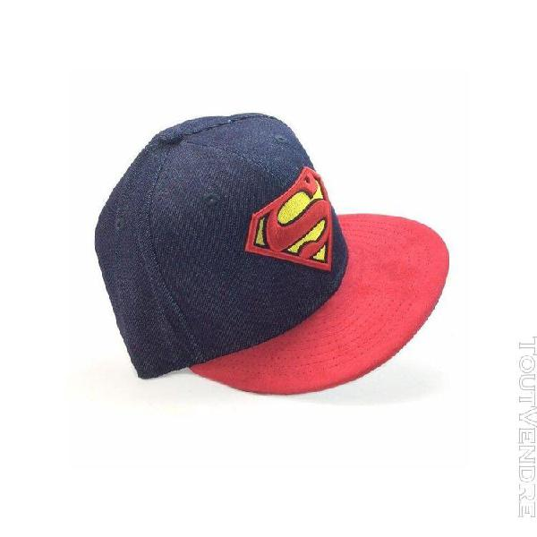 Casquettes new era homme densuede superman rouge