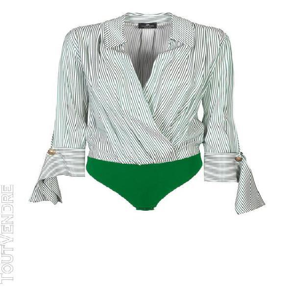 Elisabetta franchi femme cb10001e2x14 vert viscose body