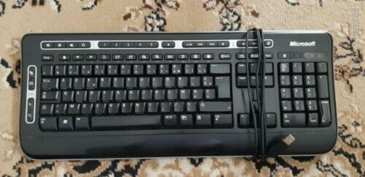 Clavier microsoft keyboard 3000 azerty usb