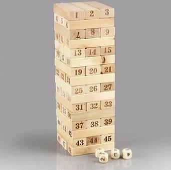 jeu de construction destruction et superposition de bloc de