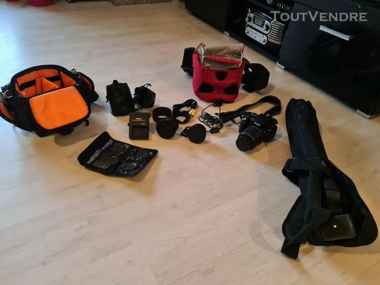 Nikon d5100 appareil photo numérique reflex + objectif