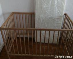 berceau pour bebe avec matelas 35euro