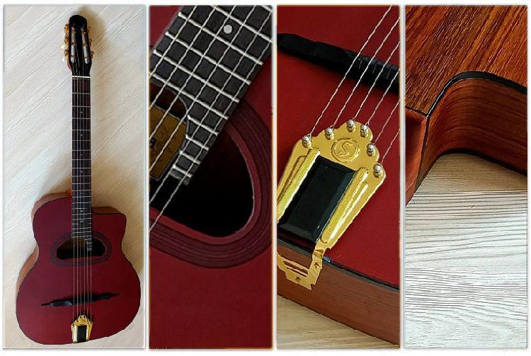 Guitare manouche grande bouche neuf, la ferrière (85280)