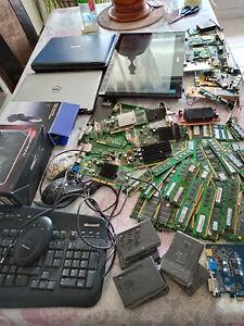 Lot informatique pour pièce a,tester pc portable memoire