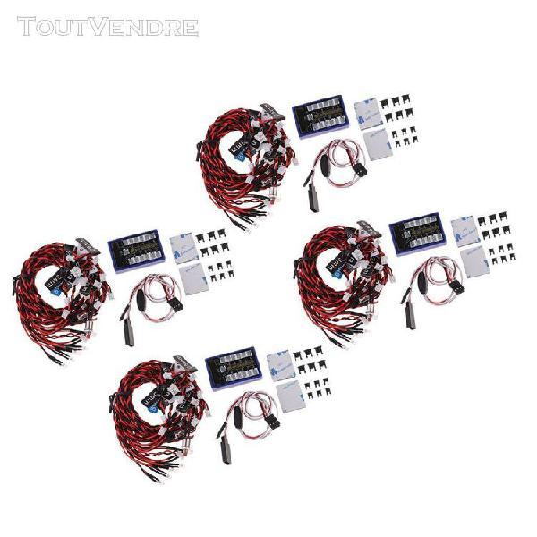 4 set 12 kits de lampes stroboscopiques flash pour voiture r