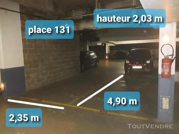 Emplacement de parking a louer saint-germain-en-laye