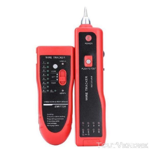 Téléphone fil tracker tracer réseau cable tester