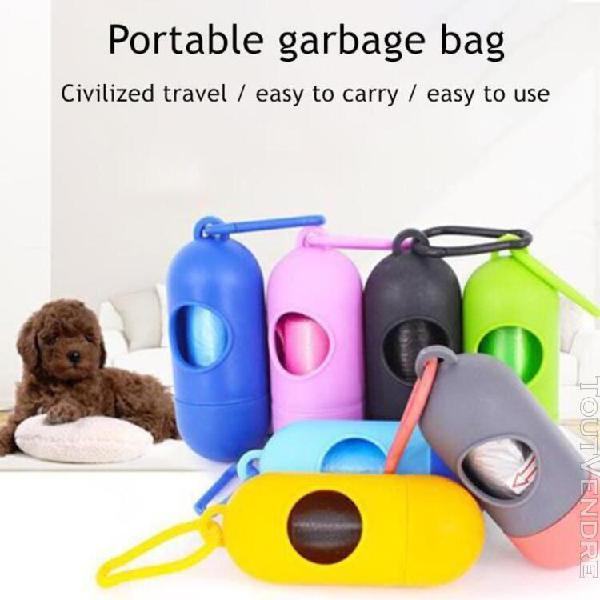 10 rouleaux de sac poubelle pour animaux de compagnie fourni