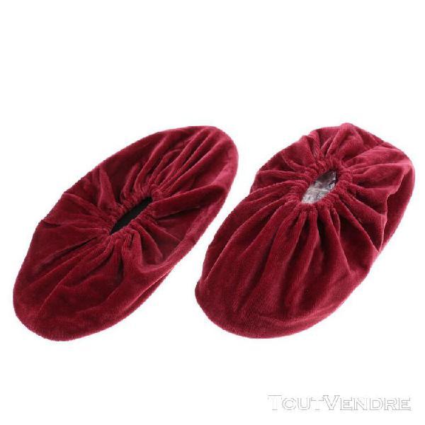 2 pièces couvre-chaussures antidérapants pour femmes
