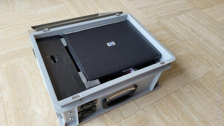 Alimentation portable astrophotographie avec entrées ac et